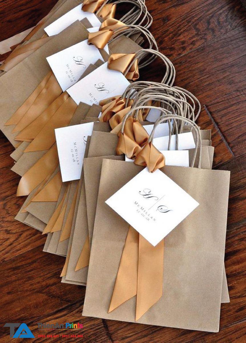 Mẫu túi giấy xi măng đẹp