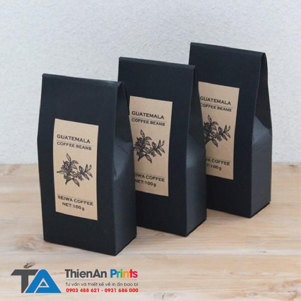 Mẫu túi cafe giấy giá rẻ