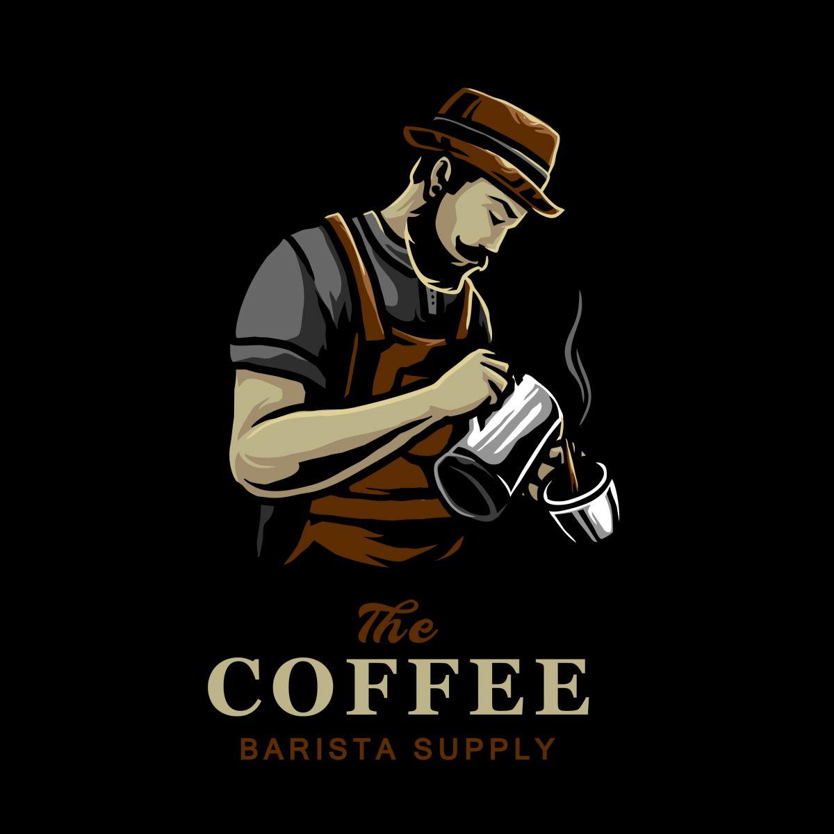 Mẫu người pha cà phê