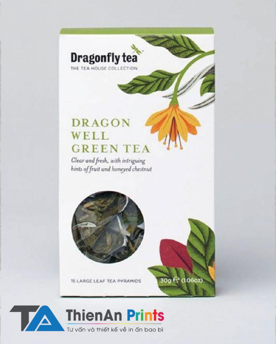 Thiết kế bao bì trà