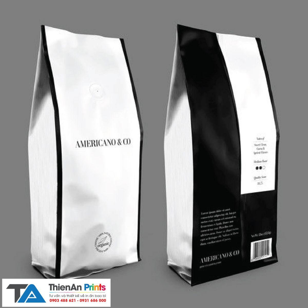 Bao đựng cà phê giá rẻ