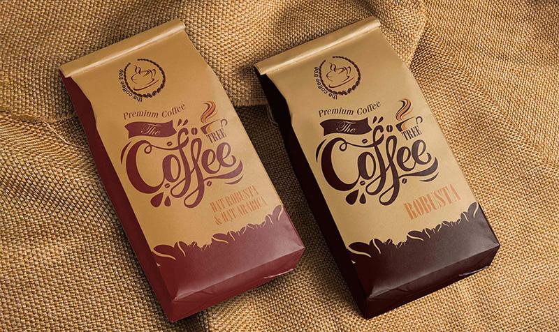 công ty in túi cà phê