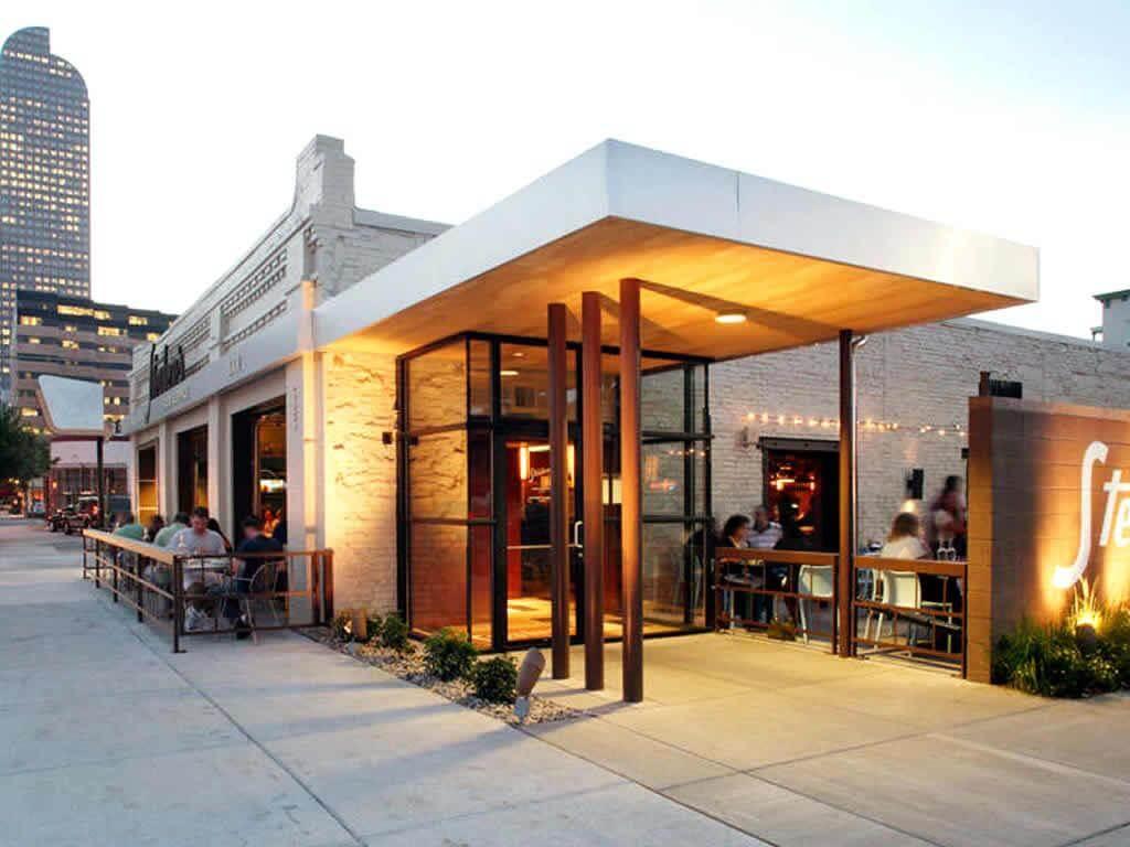 Mặt bằng quán cà phê