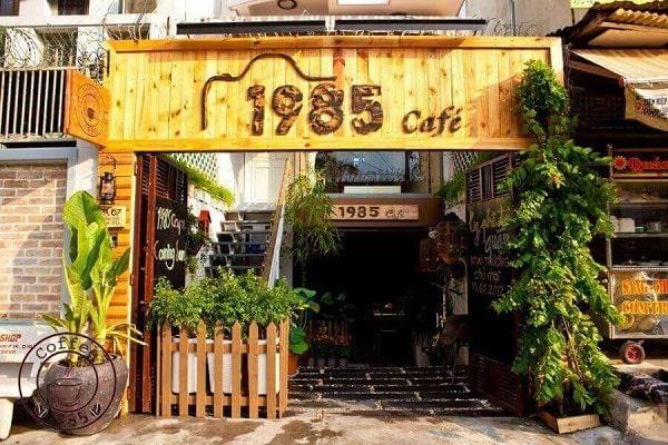 Tên quán cà phê độc đáo