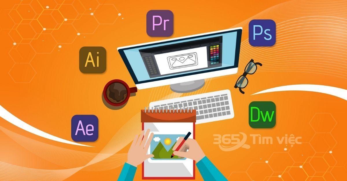 Tổng hợp phần mềm dùng thiết kế